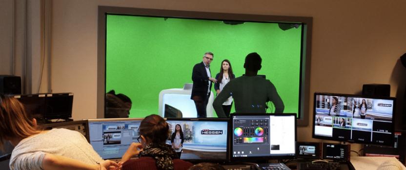 Virtuelles Studio für RTL Hessen